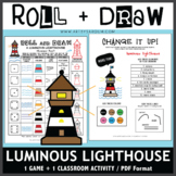 Roll and Draw Game - Luminous Lighthouse (Summer Fun!)