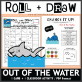 Roll and Draw Game - Out of the Water (Summer Fun!)