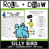 Roll and Draw Game - Silly Bird