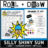 Roll and Draw Game - Silly Shiny Sun (Spring Fun!)