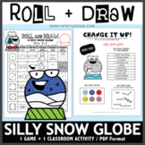 Roll and Draw Game - Snow Globe (Winter Fun!)