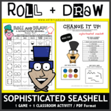 Roll and Draw Game - Sophisticated Seashell (Summer Fun!)
