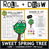 Roll and Draw Game - Sweet Spring Tree (Spring Fun!)