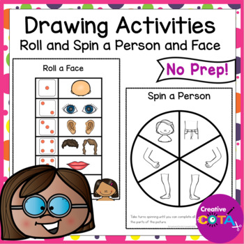 Roll and Draw  Person and Face