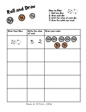 Roll and Draw...Representing coin amounts