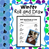 Roll and Draw a Line-Winter
