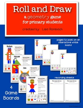 Roll and Draw... a geometry game for primary students