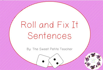 Roll and Fit It Sentences
