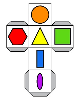 Roll and Graph 2-d Shapes