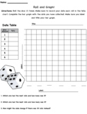 Roll and Graph Bar Graph