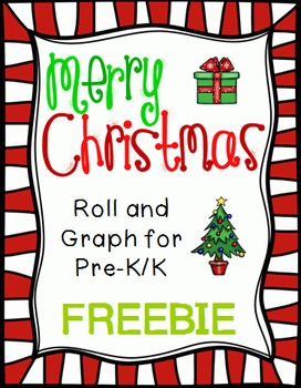 Roll and Graph Christmas Freebie