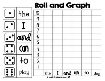 Roll and Graph - Freebie!