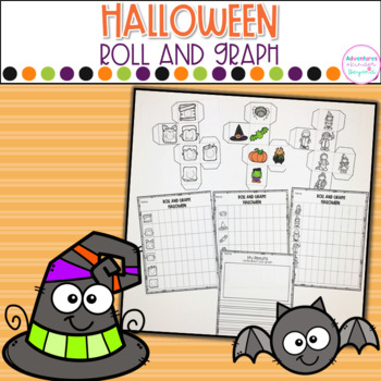 Roll and Graph- Halloween