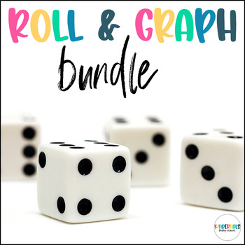 Roll and Graph- Math Centers for Kindergarten Bundle