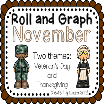 Roll and Graph November: Veteran's Day and Thanksgiving