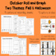 Roll and Graph October: Fall and Halloween