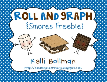 Roll and Graph {Smores} FREE