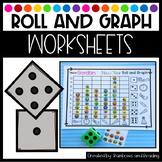 Roll and Graph Worksheets