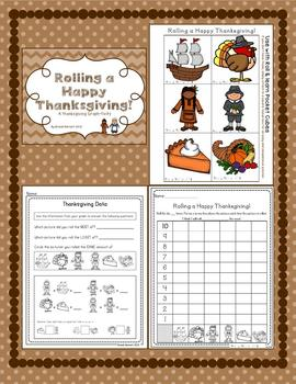 Roll and Graph a Happy Thanksgiving