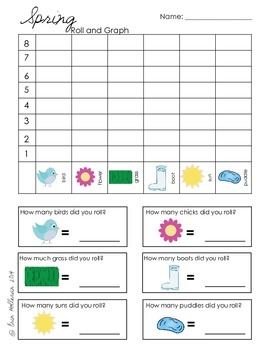 Roll and Graph for Spring set 2