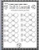 Roll and Learn Dice Game Bundle to build fact fluency!