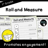 Roll and Measure-Student Mats (First Grade, 1.MD.2)