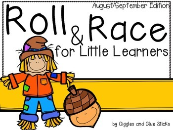 Roll and Race for Little Learners (August/September Edition)