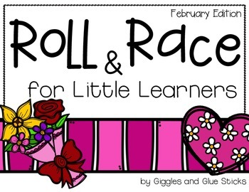 Roll and Race for Little Learners (February Edition)