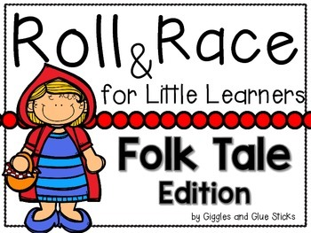 Roll and Race for Little Learners (Folk Tales Edition)