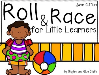 Roll and Race for Little Learners (June Edition)