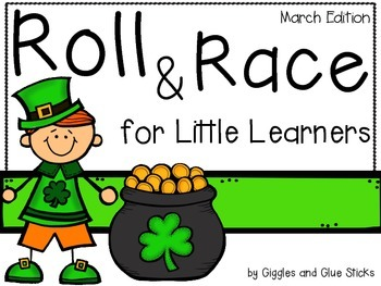 Roll and Race for Little Learners (March Edition)