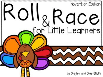 Roll and Race for Little Learners (November Edition)