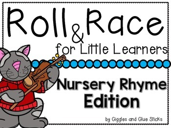 Roll and Race for Little Learners Nursery Rhymes Edition