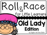 Roll and Race for Little Learners: Old Lady that Swallowed a....Edition