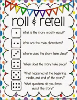 Roll and Re-Tell Game