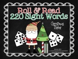 Roll and Read 220 Dolch Sight Words Christmas Theme