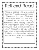 Roll and Read (2nd Hundred Fry Phrases)