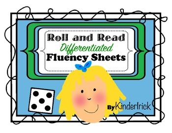 Roll and Read- A Word Family Fluency Center