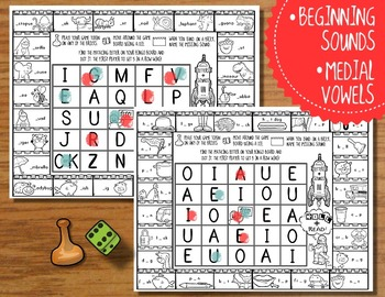 Roll and Read BINGO: Sight Words and Phonics