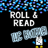 Roll & Read BUNDLE!! Phonics & reading games perfect for CENTERS & SMALL GROUP