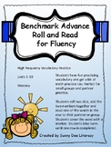 Roll and Read Benchmark Advance High Frequency Vocabulary