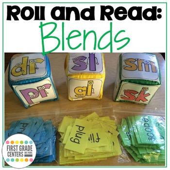Roll and Read Blends L blends R blends S blends
