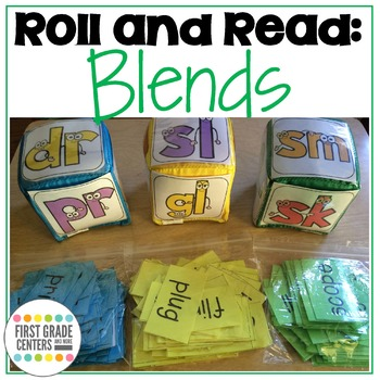 Roll and Read Blends: L blends, R blends, S blends