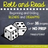 Roll and Read [Blends and Digraphs Words]