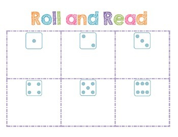 Roll and Read: Short Vowels, Blends, and TH/SH words