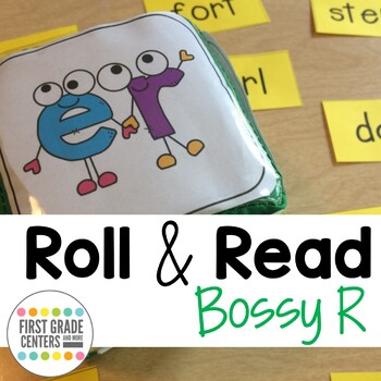 Roll and Read Bossy R {ar, or, er, ir, ur}