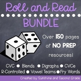 Roll and Read Bundle  [Long/Short vowels, R-Controlled Vow