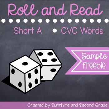 Roll and Read [CVC] FREEBIE