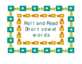 Roll and Read CVC Short Vowel Words