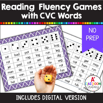 Roll and Read CVC words